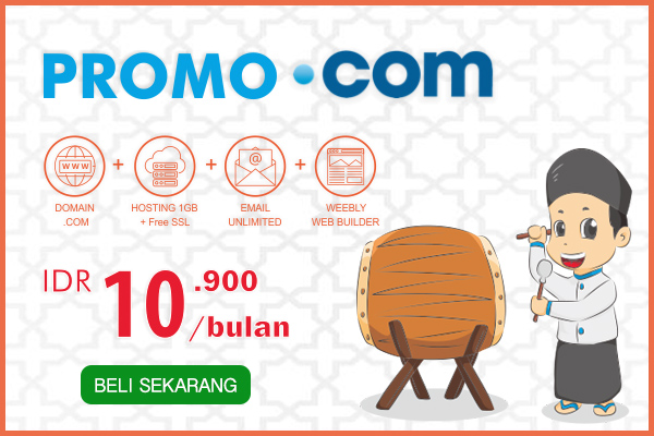 Promo domain .COM, all in one
